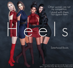 Heels SISTERHOOD BOOTS Group 1