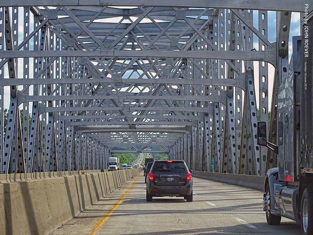 I-70 Westbound over Missouri River, 16 June 2019