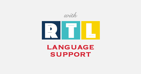 Multilingual Support, RTL language support