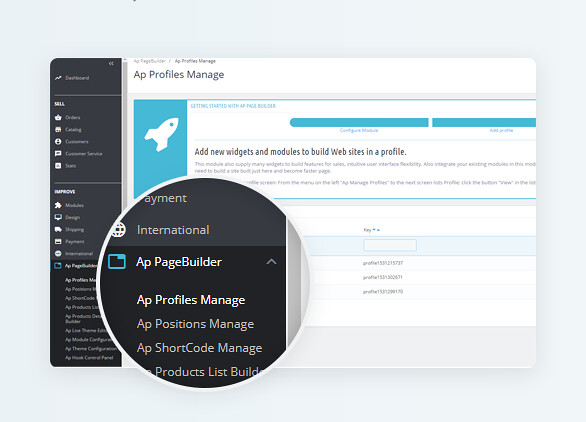 best drag and drop ap page builder Prestashop module-Amazingly Fast & Intuitive Backend Editor