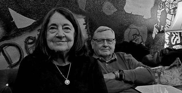 Kathy and Rick Hebenstreit at Kahlo Tapas & Tequila