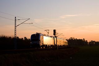 Railpool 193 997 + LZ FLX 76340 Berlin Südkreuz - Aachen Hbf  - Genshagener Heide Schweineohr
