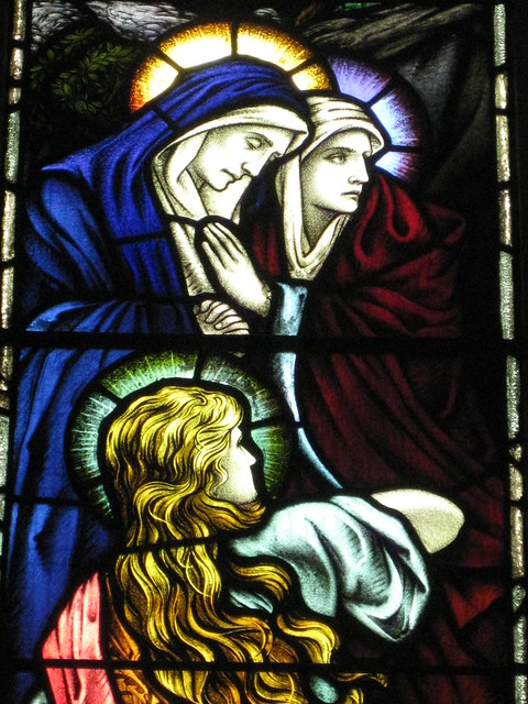 Detail of the Thomas and Agnes Clerke Memorial Window; The Former Saint George's Presbyterian Church - Corner Latrobe Terrace and Ryrie Street, Geelong
