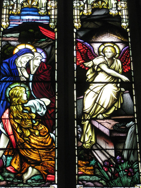 Detail of the Thomas and Agnes Clerke Memorial Window; The Former Saint George's Presbyterian Church - Corner Latrobe Terrace and Ryrie Street, Geelong