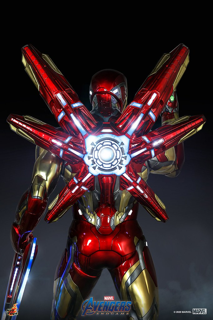鋼鐵人迷的至尊珍寶誕生?! Hot Toys《復仇者聯盟:終局之戰》驚人的 1:1 比例「鋼鐵人馬克 85」(Iron Man Mark LXXXV) 公開!