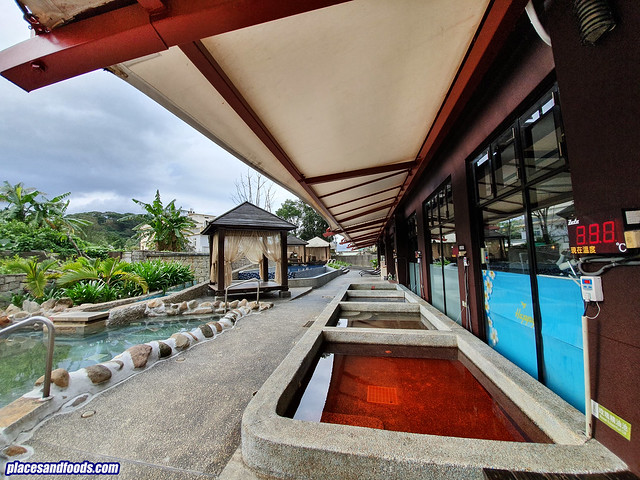 the loft seaside hotspring jinshan outdoor pools