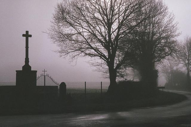 Vouhé dans la brume 3