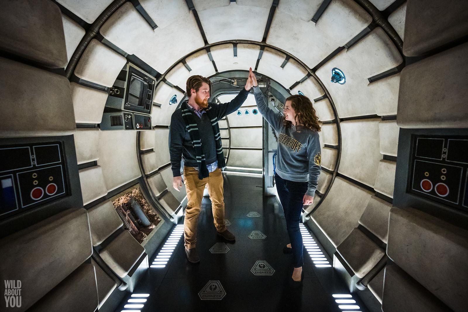 Harry Potter & Star Wars Disneyland Engagement 24