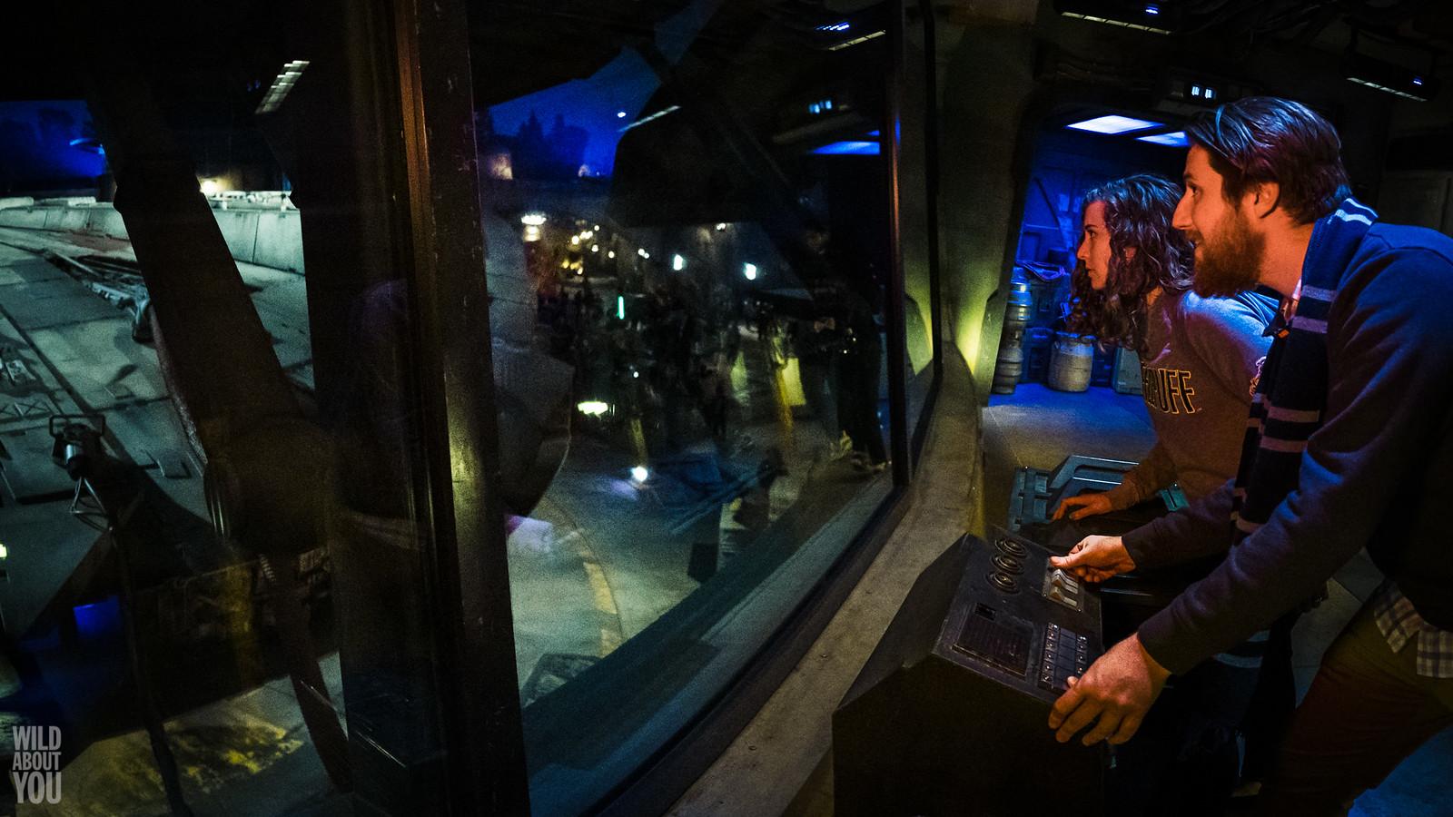 Harry Potter & Star Wars Disneyland Engagement 22