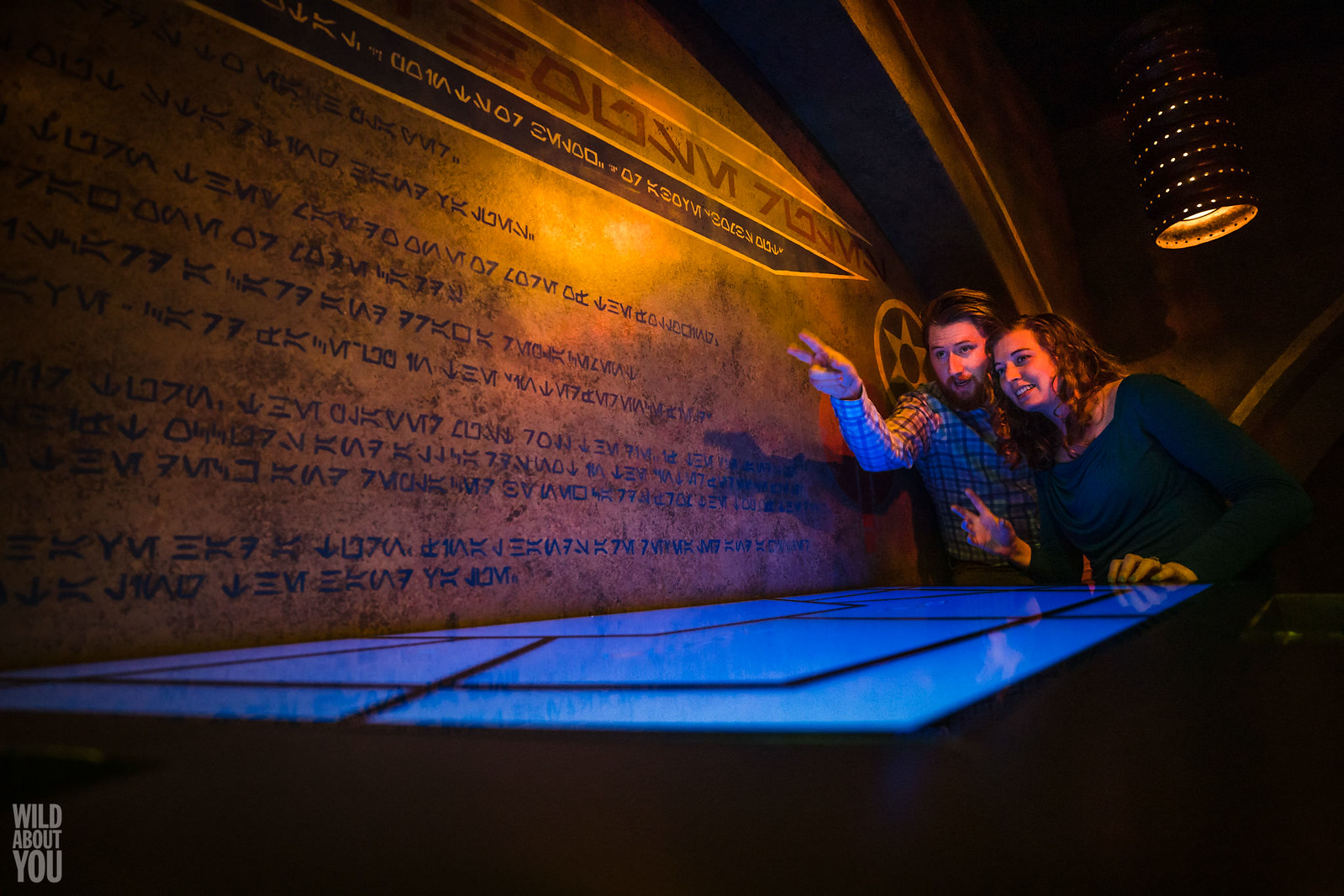 Harry Potter & Star Wars Disneyland Engagement 14