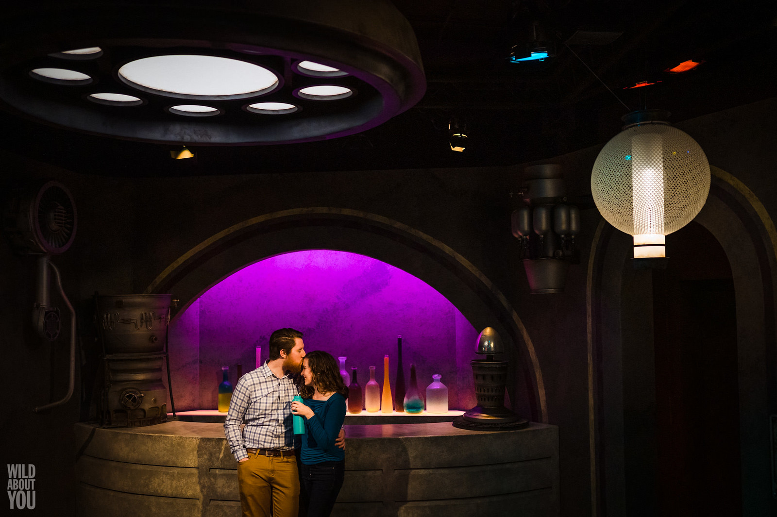 Harry Potter & Star Wars Disneyland Engagement 13