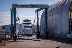 Busy Marine Industry - Campbell River