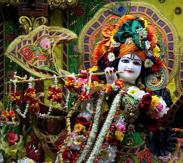 ISKCON Juhu Sringar Deity Darshan on 21st Jan 2020