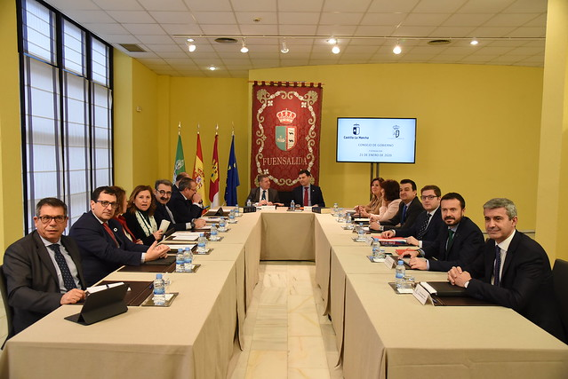 Consejo de Gobierno itinerante en Fuensalida