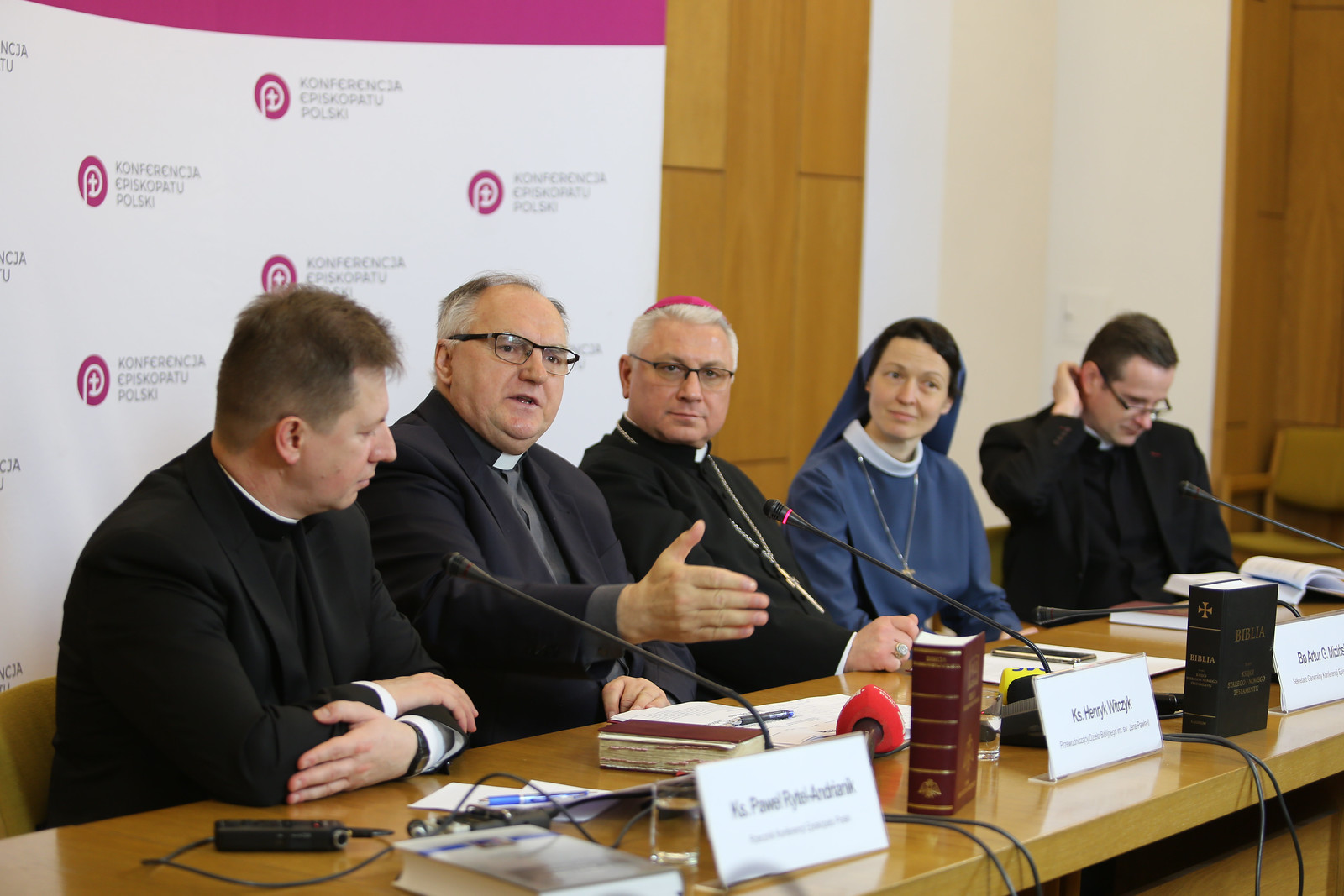 Konferencja prasowa przed Niedzielą Słowa Bożego - Warszawa, 21 I 2020 r.