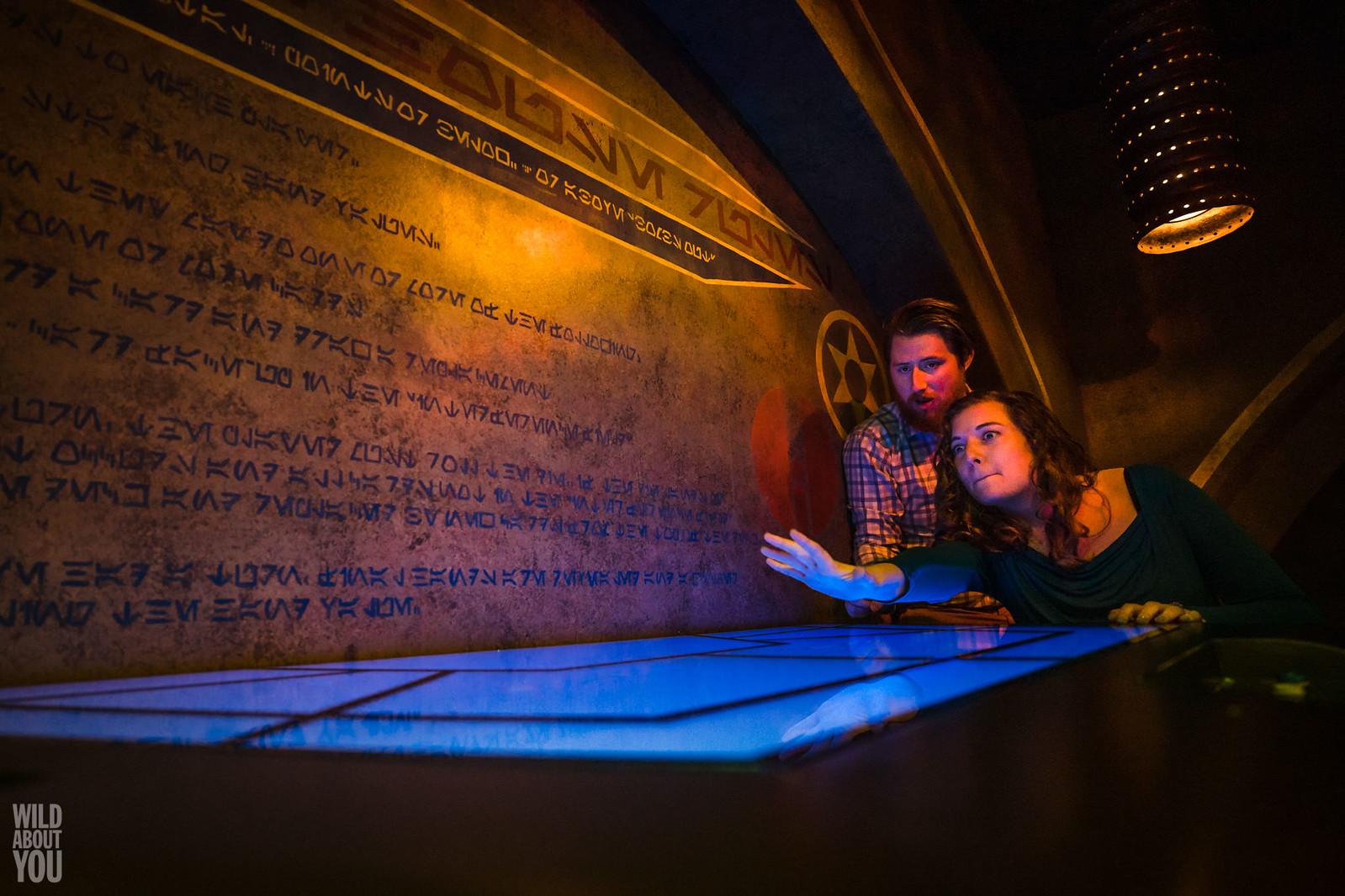 Harry Potter & Star Wars Disneyland Engagement 16