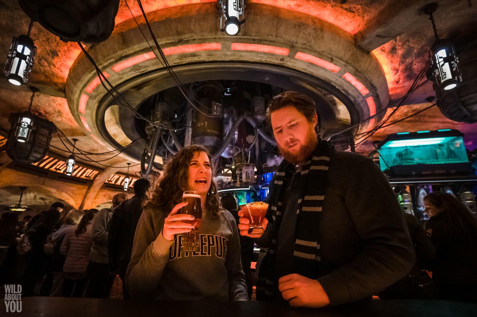 Harry Potter & Star Wars Disneyland Engagement 09