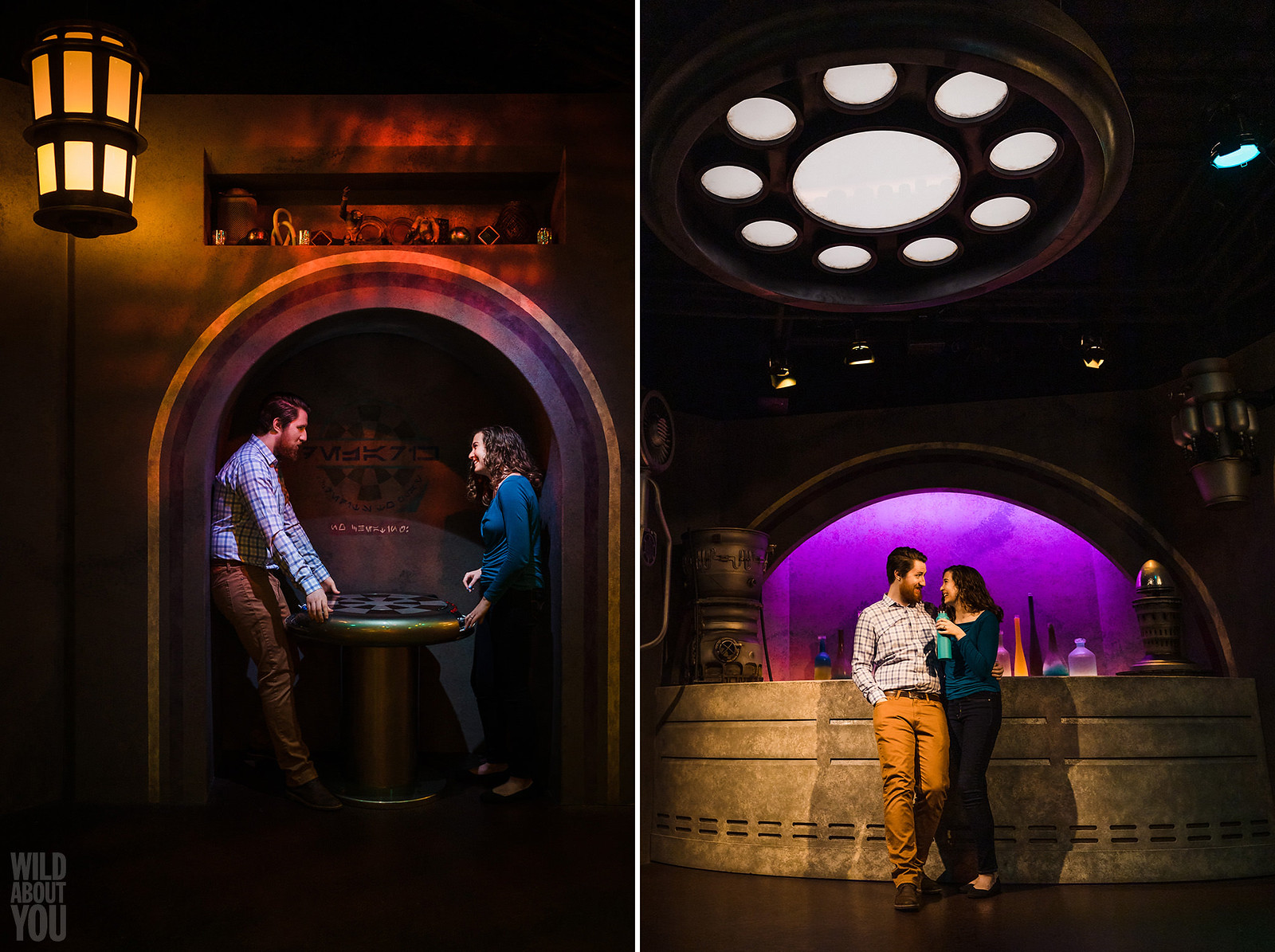 Harry Potter & Star Wars Disneyland Engagement 12