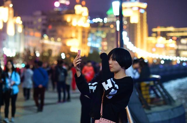 Shanghai - Selfie Girl