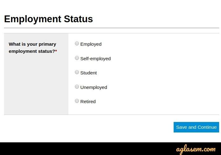 CFA 2020 employment status