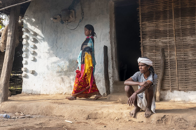 Baiga family - Chhattisgarh - India