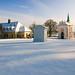 Skalka, křížová cesta s kaplí a budovou kláštera přitahuje spoustu  výletníků, foto: Jan Hocek