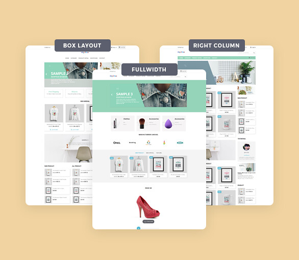 best drag and drop ap page builder Prestashop module-Build Multiple Homepage Layouts with ease