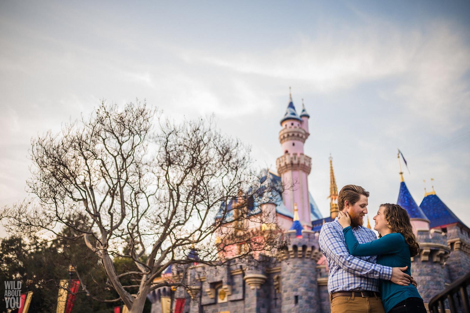 Harry Potter & Star Wars Disneyland Engagement 25