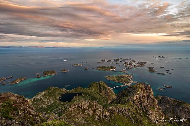 Henningsvaer Overlook - Lofoten Islands (Norway)