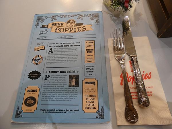 menu poppies