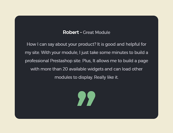 best drag and drop ap page builder Prestashop module