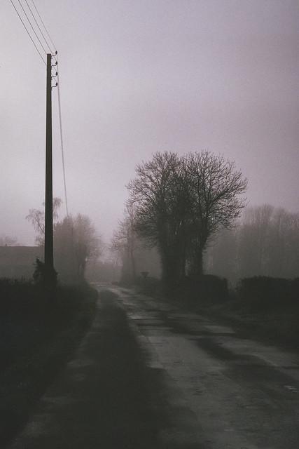 Vouhé dans la brume 2