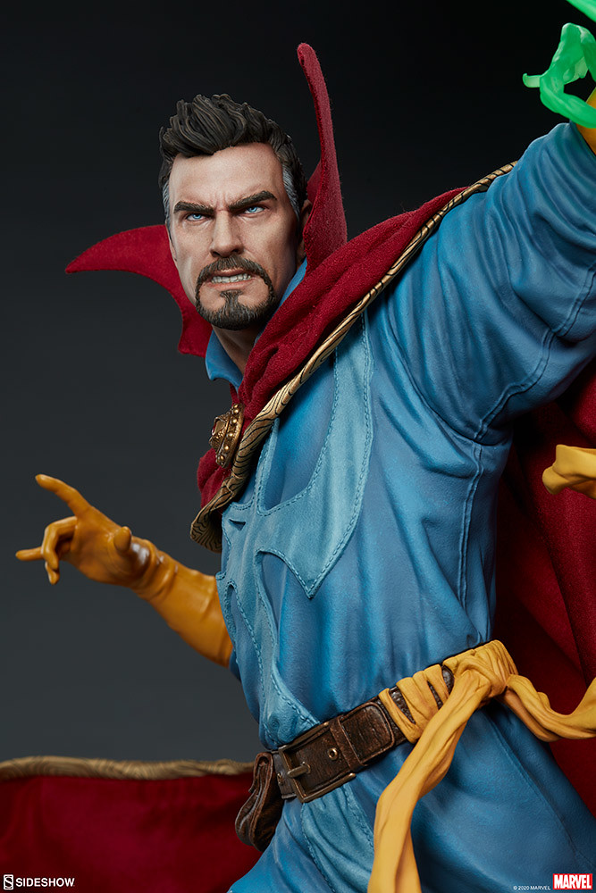 因為他很奇異~Sideshow Collectibles《奇異博士》奇異博士 1/4  比例全身雕像作品(Doctor Strange Maquette)