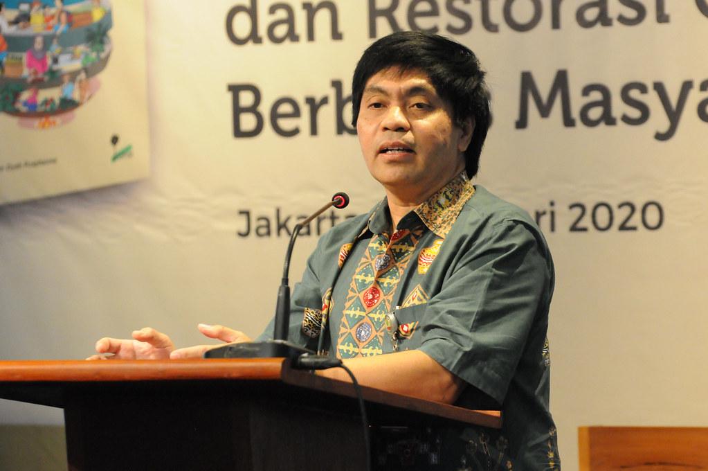 Harris Gunawan, Badan Restorasi Gambut (BRG).