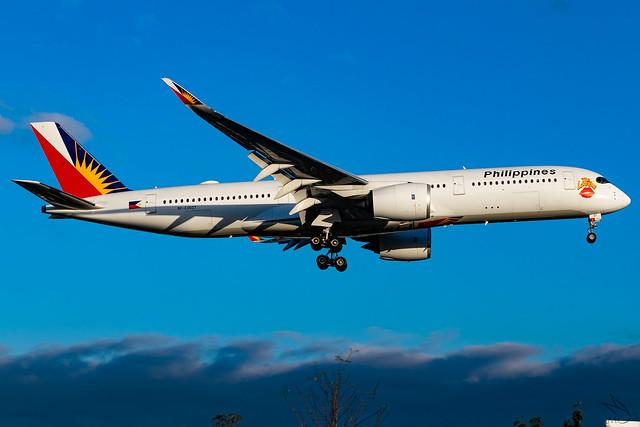 Philippine Airlines - Airbus A350-941 / RP-C3507 @ Manila