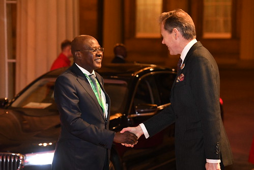 UK-Africa Investment Summit Royal reception