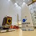 EUTELSAT KONNECT satellite installed on Ariane 5's SYLDA (Kourou, French Guiana)