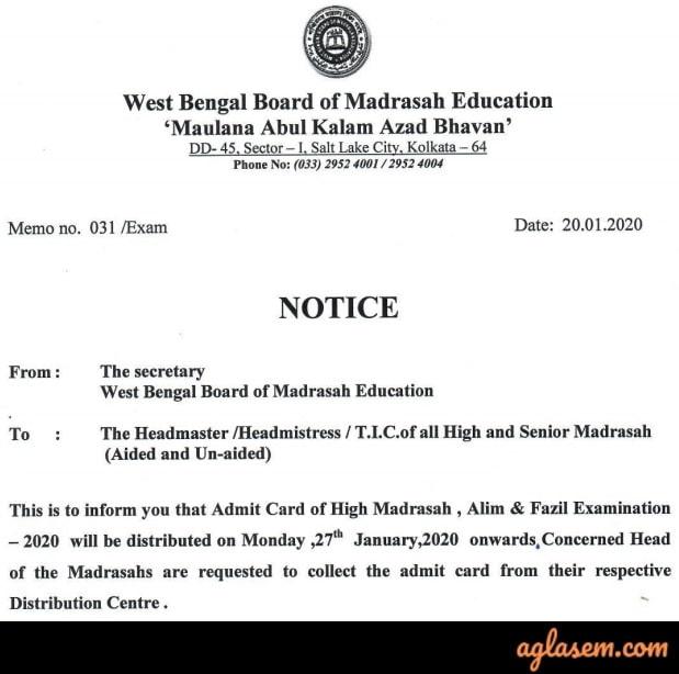 WBBME Madrasah Routine 2020