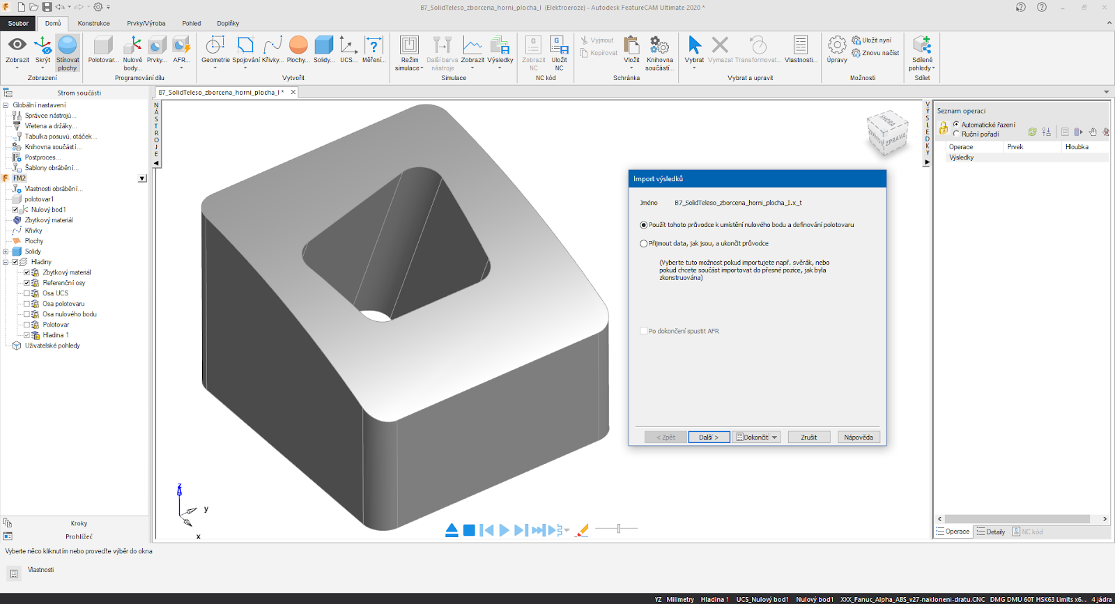 Working with Autodesk FeatureCAM Ultimate 2020.3 x64 full