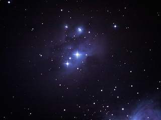 Sh2-279 (NGC 1973, NGC 1975 & NGC 1977) Running Man Nebula in the Constellation of Orion 2020-01-20
