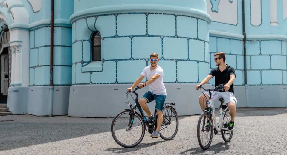 Fietsen in Bratislava, foto met dank aan Stará tržnica | Mooistestedentrips.nl