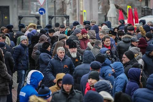 21 января 2020, Митрополит Кирилл принял участие в митинге в 77-ю годовщину освобождения Ставрополя от немецко-фашистских захватчиков
