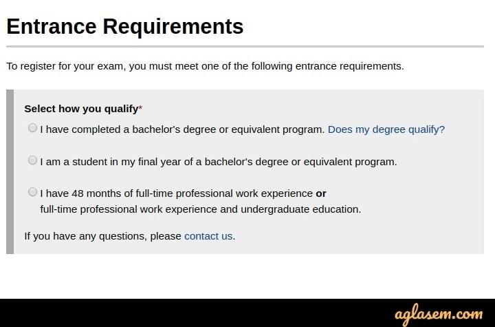 CFA 2020 eligibility criteria