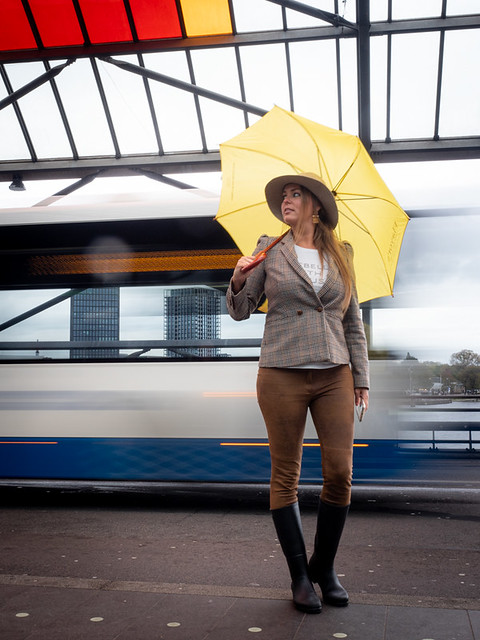 Naomi, Amsterdam 2019: Flashing by