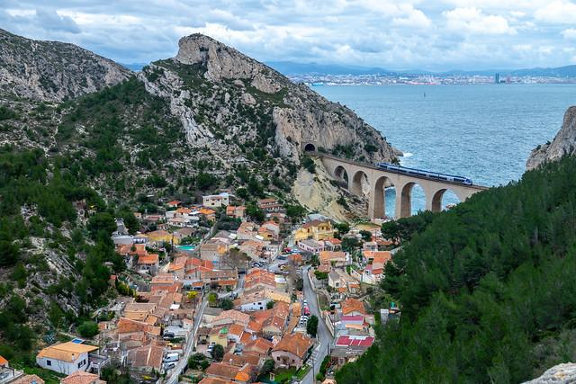 TER Sud Provence-Alpes-Côte d'Azur a La Vesse - Niolon