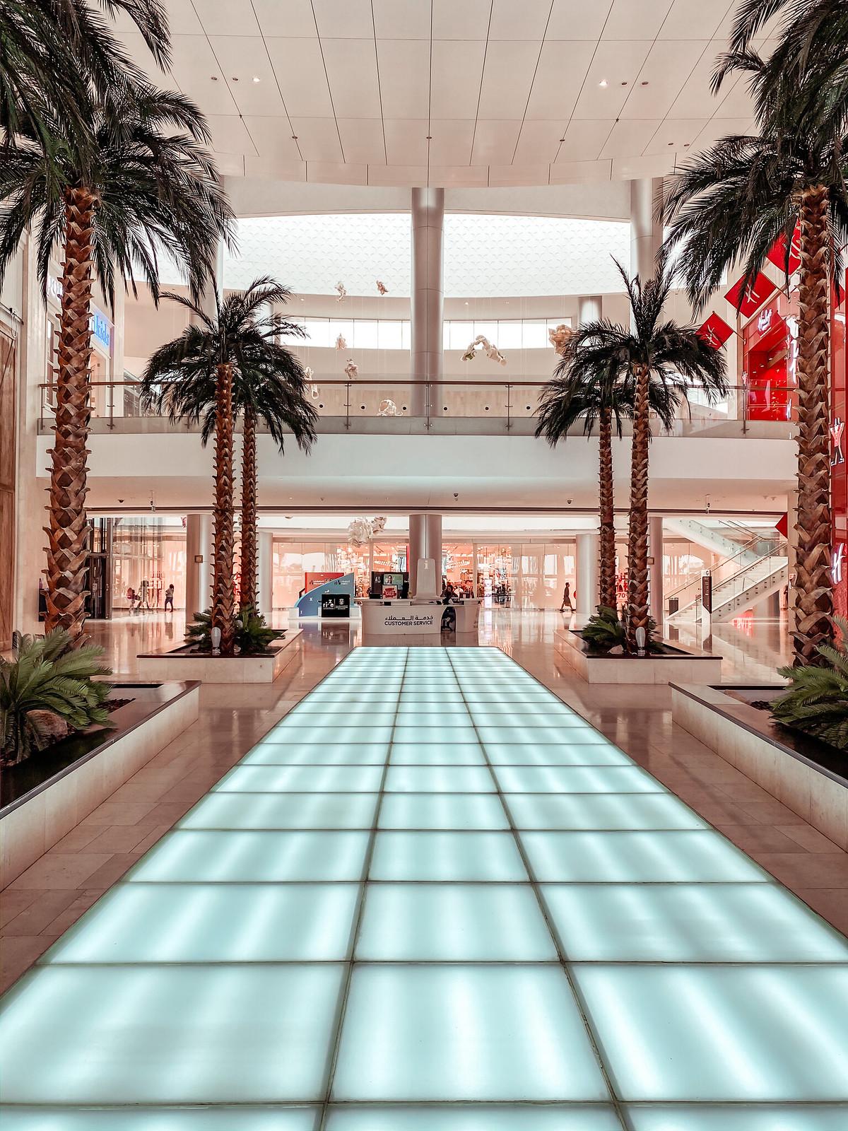 Abu Dhabi ostoskeskukset