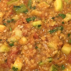 #RedLentils and #Zucchini #Lentils #vegetarian #Rice #comfortFood #homemade #Food #CucinaDelloZio -