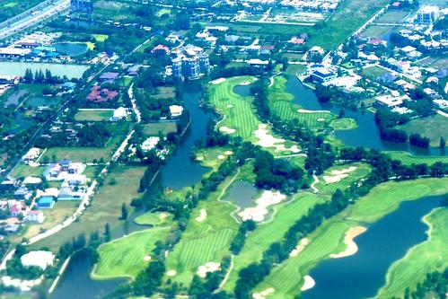 thailand aerialphotography aerial bangkok golf sport