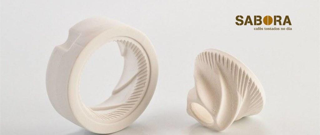 Muelas de cerámica para molinos de cafe