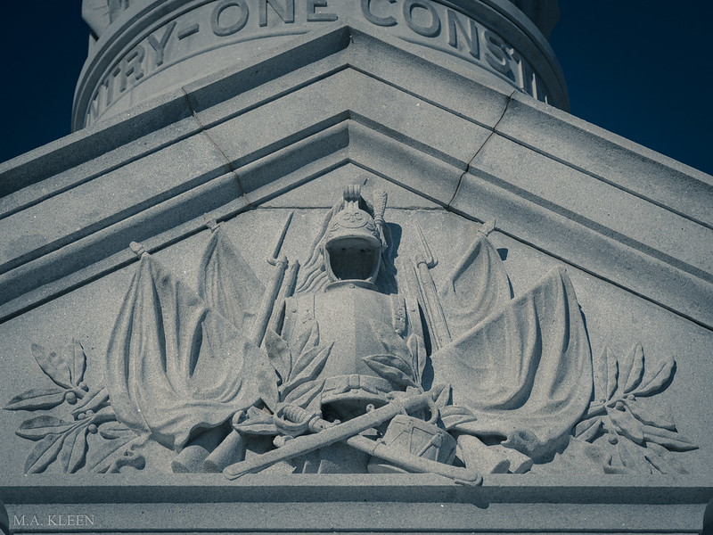 Yorktown Victory Monument Detail